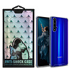 Atouchbo Backcover Anti-Shock TPU + PC voor Huawei Honor 20 Pro Transparant