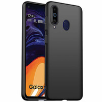 CoolSkin Slim for Samsung A60 Black