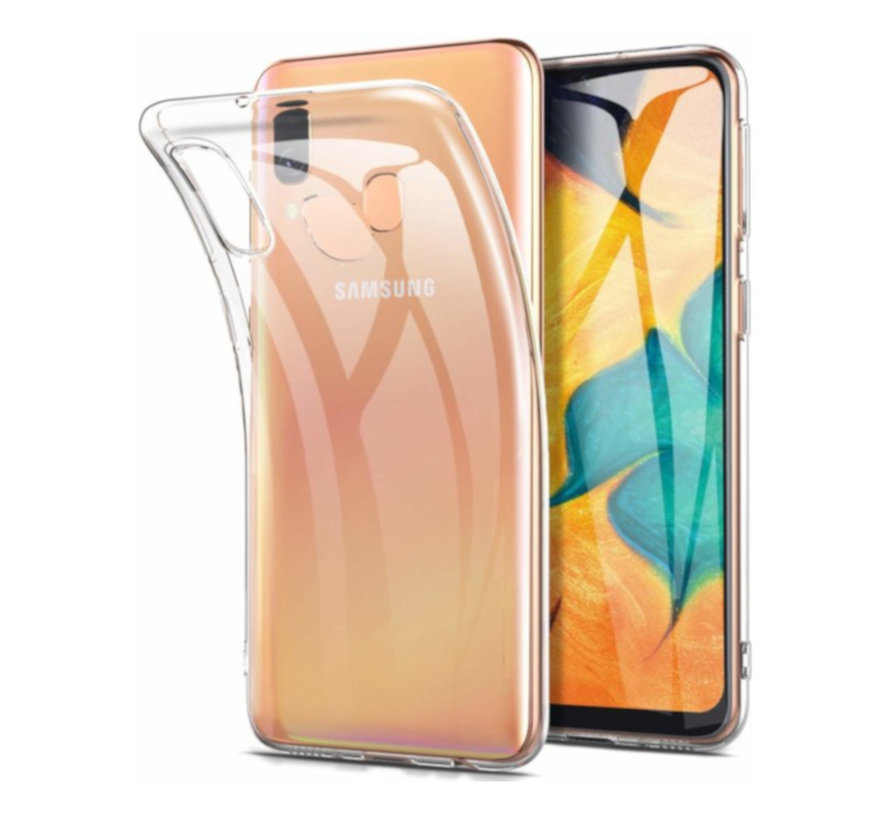 Samsung A60 Hoesje Transparant - CoolSkin3T