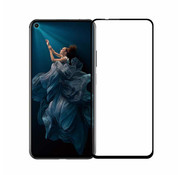 Colorfone Huawei Honor 20 Pro Screenprotector Black Transparent - Glas 2.5D
