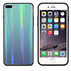 Colorfone BackCover Aurora Glass voor Apple iPhone 8 Plus - 7 Plus Blauw