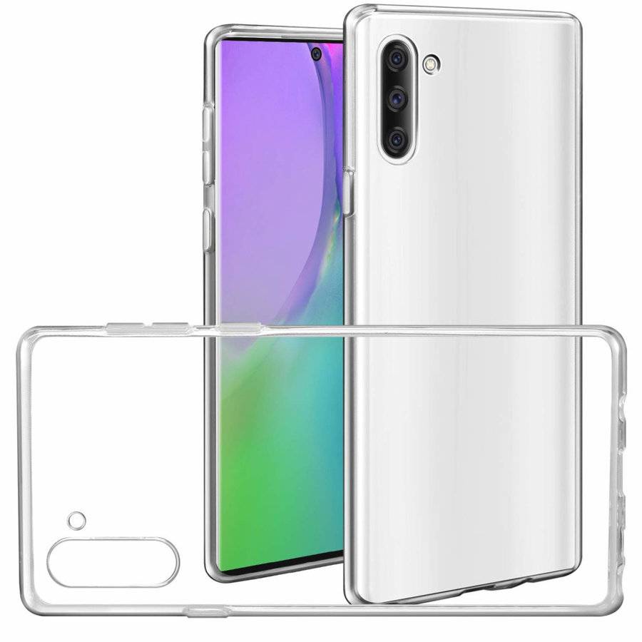 Case CoolSkin3T for Samsung Galaxy Note 10 Transparent White