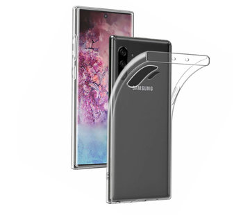 Colorfone Samsung Galaxy Note 10 Plus  Hoesje Wit CoolSkin3T