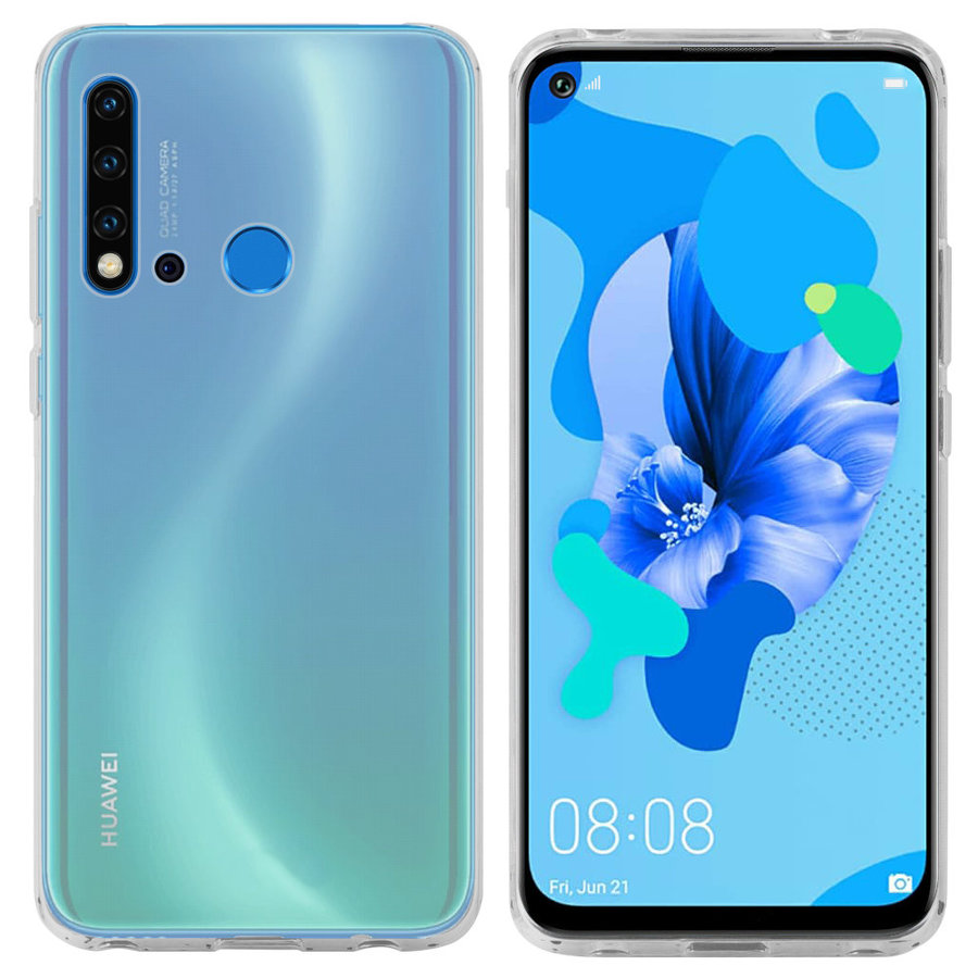 Case CoolSkin3T for Huawei P 20 Lite 2019 Transparent White