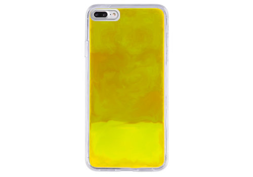 CoolSkin Liquid Neon iPhone SE 2020 - 8 - 7 - 6 Geel