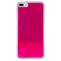 Hoesje CoolSkin Liquid Neon TPU voor iPhone 8 Plus - 7 Plus - 6 Plus Roze