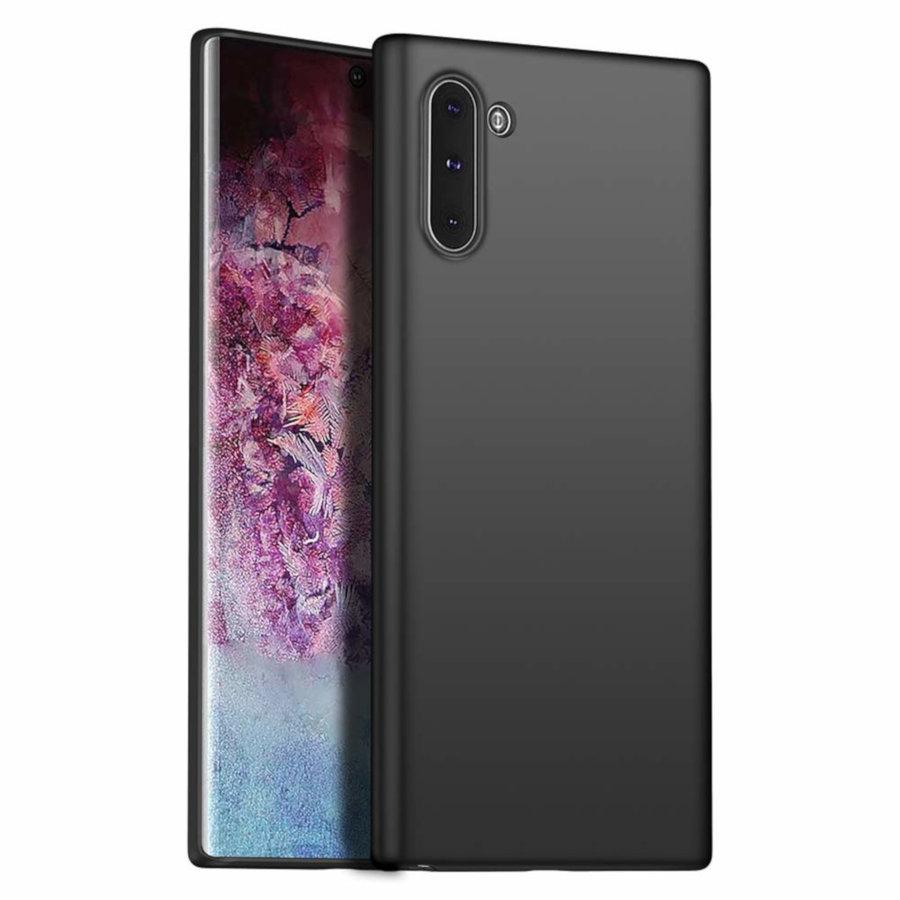Hoesje CoolSkin Slim voor Samsung Note 10 Zwart