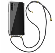 Colorfone Samsung Note 10 Case Transparent with cord - Shockproof cord