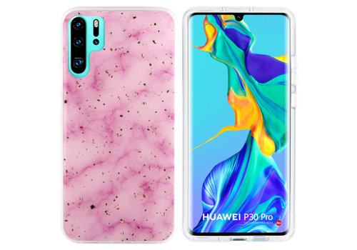 BackCover Marble Glitter P30 Pro Pink