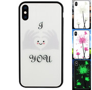 Colorfone iPhone Xs Max Hoesje Hart - BackCover Magic Glass
