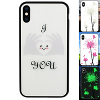 iPhone Xs Max Hoesje Hart - BackCover Magic Glass