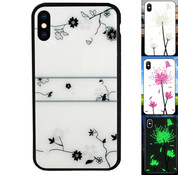 Colorfone iPhone Xs Max Case Roos - Magic Glass