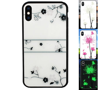 Colorfone iPhone Xs Max Hoesje Roos - BackCover Magic Glass