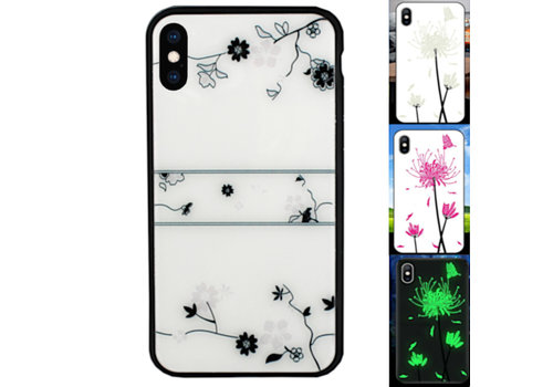 BackCover Magic Glass iPhone Xs Max Roos