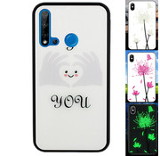 Colorfone Huawei P20 Lite 2019 Hoesje Hart - BackCover Magic Glass