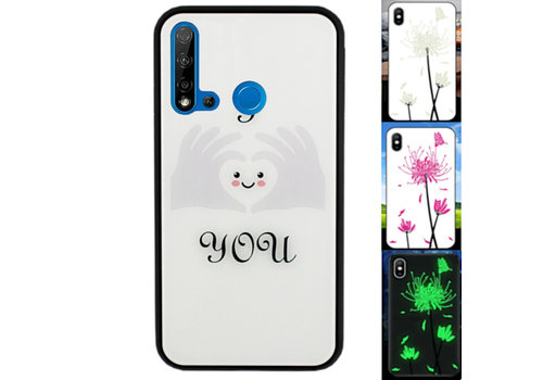 BackCover Magic Glass P20 Lite 2019  Heart