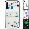 Colorfone Huawei P20 Lite 2019 Hoesje Roos - BackCover Magic Glass