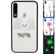 Colorfone Huawei P30 Hoesje Hart - BackCover Magic Glass