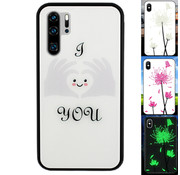 Colorfone Huawei P30 Pro Hoesje Hart - BackCover Magic Glass