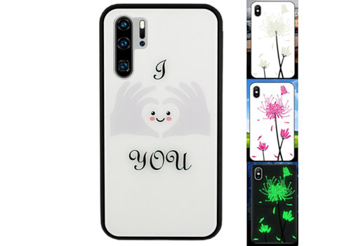 BackCover Magic Glass P30 Pro Heart