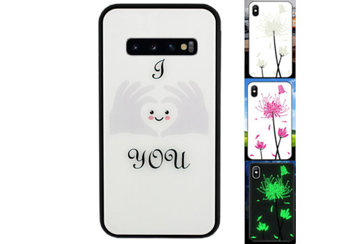 Samsung S10 Hoesje Hart - BackCover Magic Glass