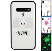 Colorfone Samsung S10 Plus Hoesje Hart - BackCover Magic Glass