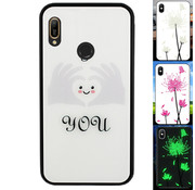 Colorfone Huawei Y6 2019 Hoesje Hart - BackCover Magic Glass