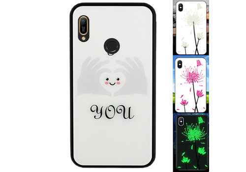 Huawei Y6 2019 Hoesje Hart - BackCover Magic Glass