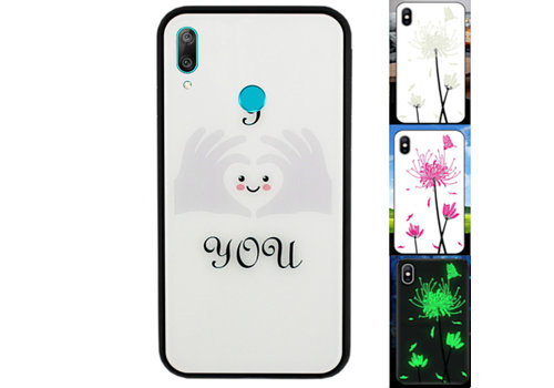 BackCover Magic Glass Y7 2019 Heart