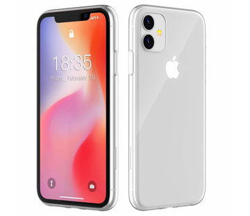 Colorfone iPhone 11  Hoesje Transparant CoolSkin3T