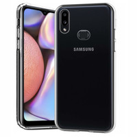 CoolSkin3T TPU Case for Samsung A10S Transparent White