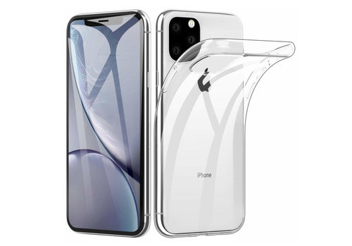iPhone 11 Pro Max  Hoesje Transparant CoolSkin3T