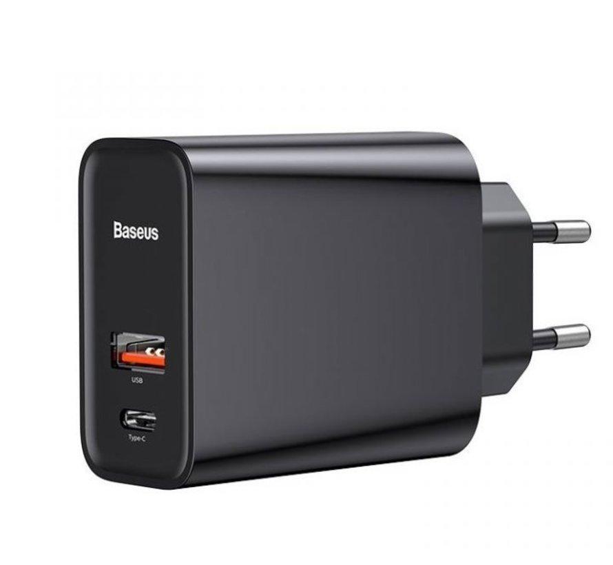 Speed PPS Quick charger C+U 30W Snellader - Universeel voor USB-A- en USB Type-C-opladers
