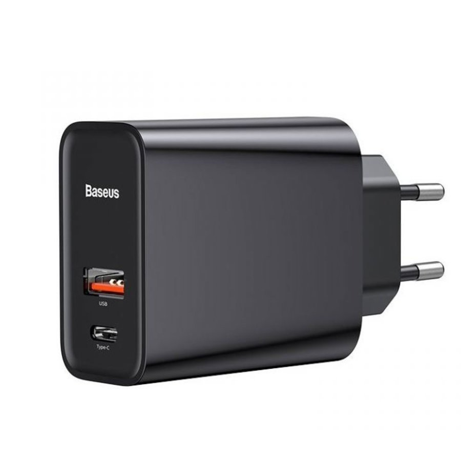 Baseus Speed PPS Quick charger C+U 30W Snellader