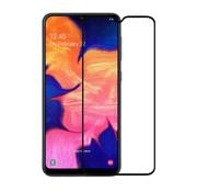 Colorfone Samsung A10 Screenprotector Black Transparent - Glas 2.5D