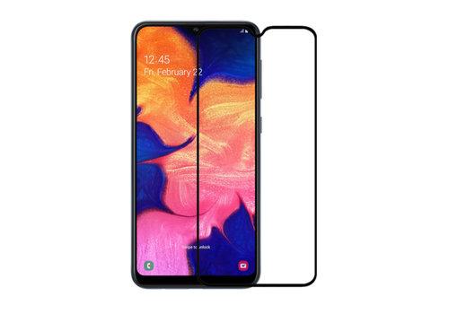 Samsung A10 Screenprotector Glas 2.5D - Zwart