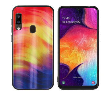 Colorfone BackCover Aurora Glass A20E Paars