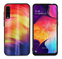 BackCover Aurora Glass voor Samsung A70 Paars