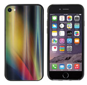 Colorfone Aurora Glass iPhone SE 2020 - 8 - 7 Geel