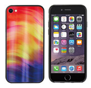 Colorfone Aurora Glass iPhone SE 2020 - 8 - 7 Paars