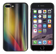 Colorfone Aurora Glass iPhone 8 Plus - 7 Plus Geel