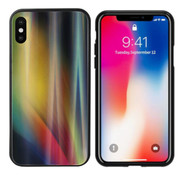 Colorfone Aurora Glass iPhone X - XS Geel