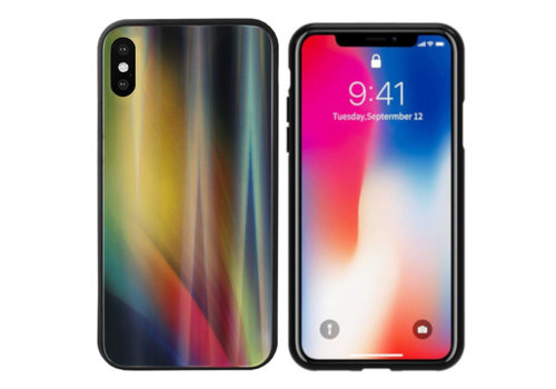 Aurora Glass iPhone X - XS Geel