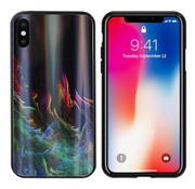 Colorfone Aurora Glass iPhone Xs Max Groen