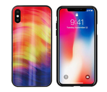 Colorfone Aurora Glass iPhone Xs Max Paars