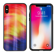 Colorfone Aurora Glass iPhone X - XS Paars