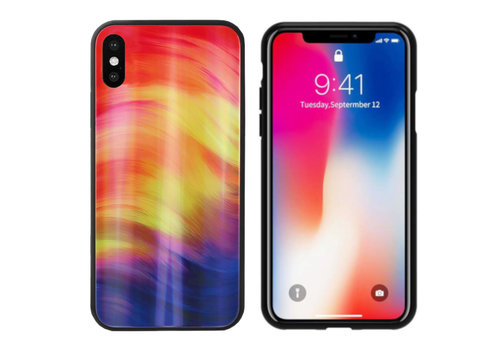 Aurora Glass iPhone X - XS Paars