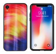 Colorfone Aurora Glass iPhone Xr Paars