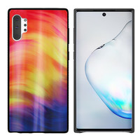 BackCover Aurora Glass voor Samsung Note 10 Plus Paars