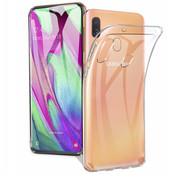 Colorfone Samsung A40 Hoesje Transparant - CoolSkin3T